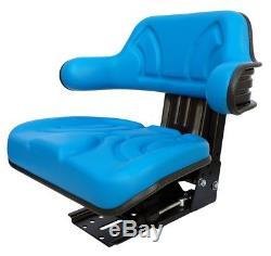 Ford New Holland Tractor Seat Backhoe Loader 4000 5000 Spring Blue