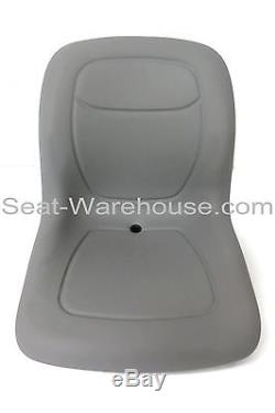 Gray HIGH BACK SEAT with Slide Track Kit for Ford New Holland Skid Steer Loader#QF