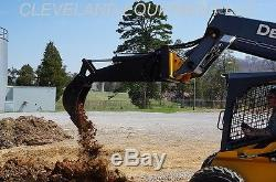 HD BACKHOE ATTACHMENT with 12 BUCKET Excavator Skid Steer Loader New Holland Gehl