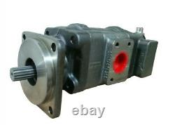 Hydraulic Pump for New Holland 555E Loader Backhoe Part # 85801065