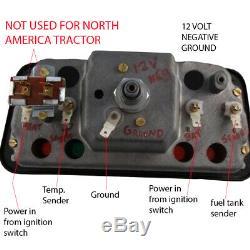 Instrument Gauge Cluster For Ford 531 532 535 540 545 550 555 Backhoe Loader