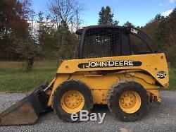 John Deere 250 Skid Steer Loader Skidloader Diesel Cheap Shipping Rates