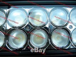 LED FLOOD LIGHT Bar Skid Steer Loader New Holland Case John Deere Bobcat Gehl
