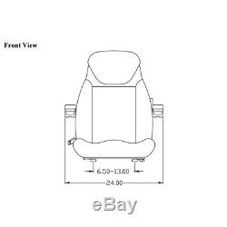 Loader/Backhoe Seat fits in Ford/New Holland 555 655 B110B LB75 LB90 B90B LB115B