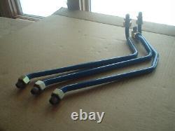 Loader Valve Steel Lines Fits Ford New Holland 1320 1520 1620 1715 7108 7308