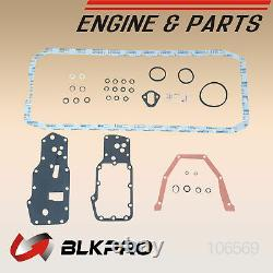 Lower Gaskets Set Made In USA Material For Dodge Ram 5.9L Cummins 03-06 Oil Pan