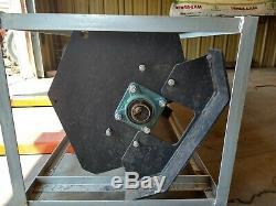 NEW 2020 Skid Steer Loader Hydraulic Tiller 72 6 feet Rototiller