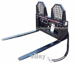 NEW 48 HYDRAULIC PALLET FORKS & FRAME ATTACHMENT Skid Steer Loader New Holland
