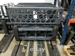 NEW 48 VIRNIG PALLET FORKS & FRAME ATTACHMENT Bobcat Skid Steer Loader 5,500#