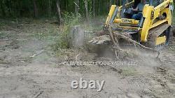 NEW 62 XL STUMP BUCKET ATTACHMENT John Deere Takeuchi Skid-Steer Track Loader