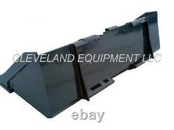 NEW 66/68 LOW PROFILE BUCKET Skid Steer Loader Attachment Doosan Bobcat Terex