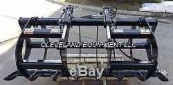 NEW 66 LD ROOT GRAPPLE ATTACHMENT Skid-Steer Loader Bucket Rake Tine Holland