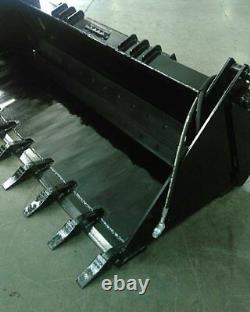 NEW 7' 84 4 IN 1 BUCKET SKID STEER LOADER 4n1,4IN1, MULTI PURPOSE, Gelh, holland