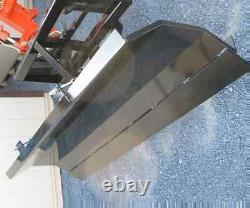 NEW 7', 84 HYDRAULIC SNOW PLOW BLADE SKID STEER LOADER, TRACTOR bobcat cat holland