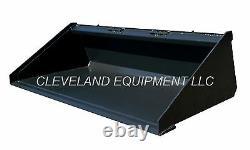 NEW 72/74 LONG BOTTOM BUCKET Skid Steer Track Loader Attachment Bobcat 6' nr
