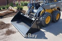 NEW 72 HD 6-IN-1 COMBINATION BUCKET Skid Steer Loader Attachment Holland 4-IN-1