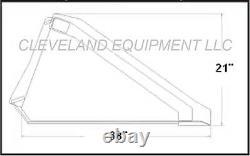 NEW 72 LONG BOTTOM BUCKET Skid Steer Loader Attachment Mustang Holland Gehl JCB