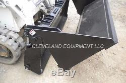 NEW 78 HD 6-IN-1 COMBINATION BUCKET Skid Steer Loader Attachment Holland 4-IN-1