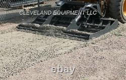 NEW 78 VIRNIG LAND LEVELER ATTACHMENT Skid Steer Track Loader Land Sculptor