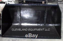 NEW 96 BULK MATERIAL XL BUCKET Skid Steer Loader Holland John Deere Snow Mulch