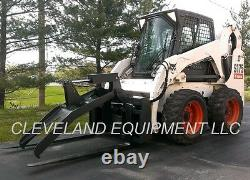 NEW ADJUSTABLE FORK GRAPPLE ATTACHMENT Skid Steer Loader Tractor Bobcat Holland