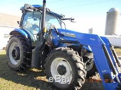 NEW HOLLAND T6.175 4X4 Loader Tractor