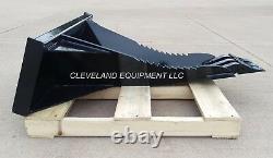NEW MINI XL STUMP BUCKET ATTACHMENT Bobcat MT52 MT55 MT85 SkidSteer Track Loader