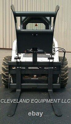 NEW PALLET FORK GRAPPLE Skid Steer Loader Attachment Bobcat John Deere Holland
