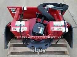 NEW SHAVER SC-30 STUMP GRINDER ATTACHMENT 16-30GPM Kubota Case Skid Steer Loader