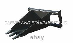 NEW STUMP BUCKET ATTACHMENT Skid Steer Loader Utility Tree Spade Holland Mustang
