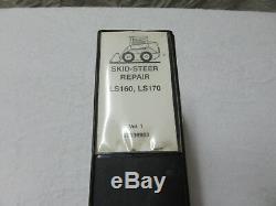 NNEW HOLLAND LS160 LS170 SKID STEER Loader Dealer Service Shop MANUAL # 87036983