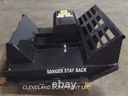New 44 CID Mini Brush Cutter Mower Attachment Vermeer Skid Steer Track Loader
