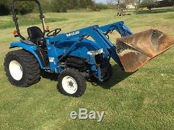 New Holland 1630 4wd With 7308 Loader