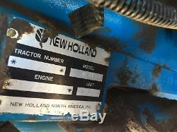 New Holland 1920 Model Ap4139 Tractor With 7108 Loader And Front Bucket