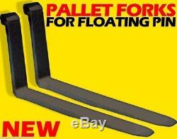 New Holland 2.25 Pin Tractor Loader/Backhoe Forks For Floating Pin 2X5X60