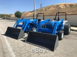 New Holland 2120 4x4 With Loaders, Pto, One Have 250 Hours, And One With 273 Doc