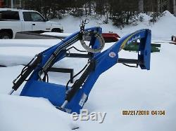 New Holland 270TL Quick Attach Loader Tractor