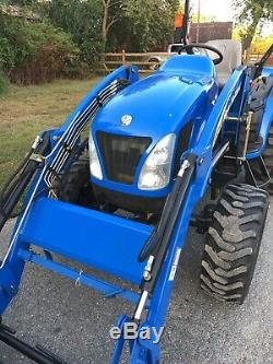 New Holland 3045 Diesel 4x4 Tractor Loader PTO HST Hydrostatic PTO 45HP