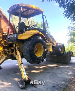 New Holland 4x4 Lb75b Backhoe Loader