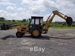 New Holland 555 B Loader Backhoe 4x2 Runs And Works Well Low Cost Ship
