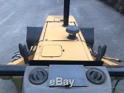 New Holland 555D Backhoe Loader Tractor Cab Diesel 4x4 Back Hoe Ford 555