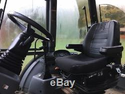 New Holland 555E Loader Backhoe 4WD NICE! Ford Tractor 555E