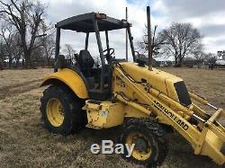 New Holland 555E Loader Tractor