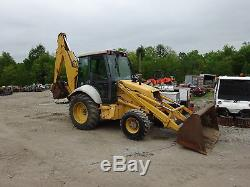 New Holland 655E Loader Backhoe 4x4 4WD ONE OWNER NICE! Ford Tractor 555