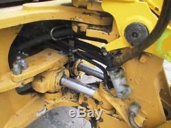 New Holland 655E Tractor Loader Backhoe, Cab, 4WD, Standard Stick, 3297 Hours