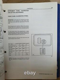 New Holland 75 85 95 Loader Backhoe Service Manual 2 Volumes