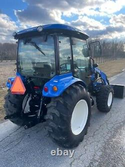 New Holland Boomer 50 Hydrostatic 4X4 Enclosed PTO Loader Quick Attach