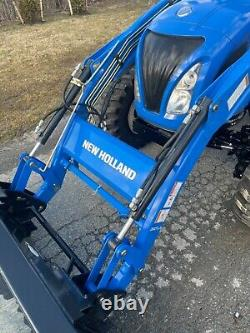 New Holland Boomer 50 Hydrostatic 4X4 Enclosed PTO Loader Quick Attach Tractor