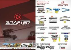 New Holland C232 Skid Steer Loader Decals / Stickers Compatible Complete Set