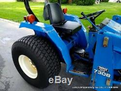 New Holland FORD TC30 HST Tractor DIESEL 30HP Hydro 4WD Mid PTO 7308 LOADER